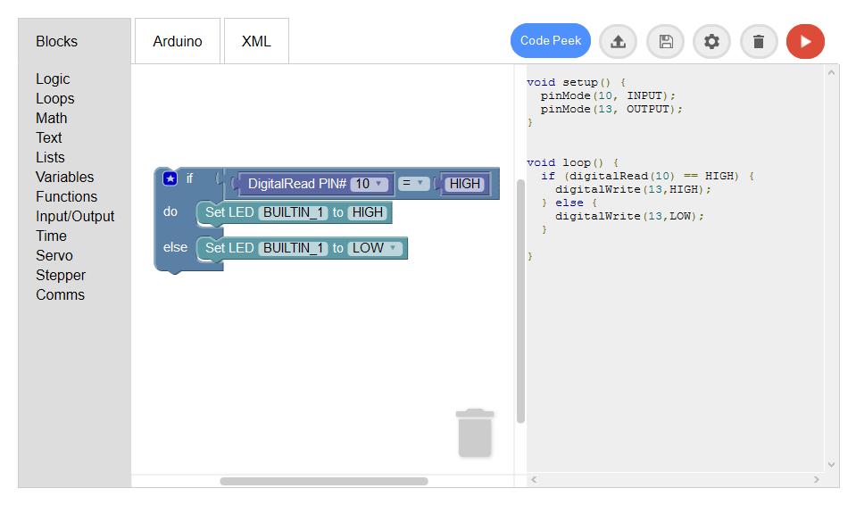 WebApp screenshot